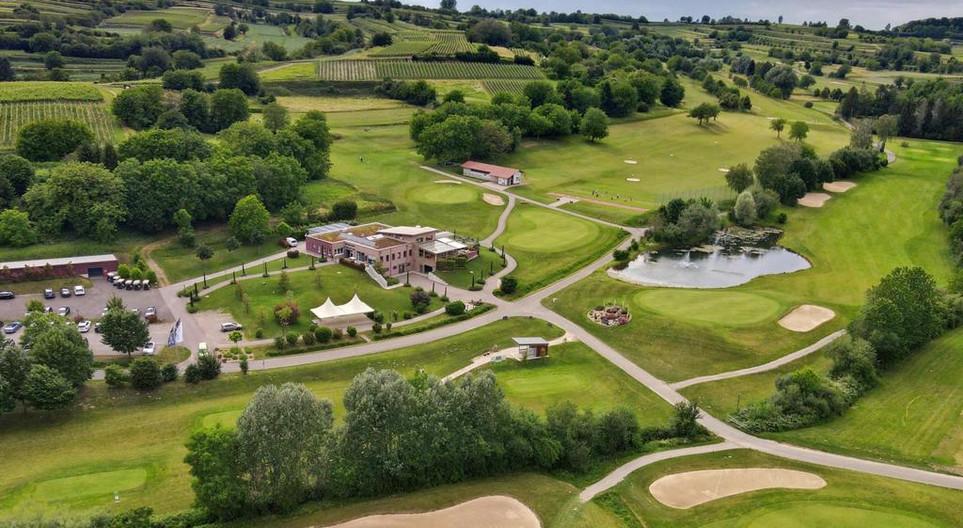 Luftaufnahme des Restaurant Rebland