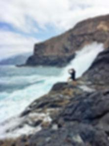 Angeln auf La Gomera vom Ufer aus