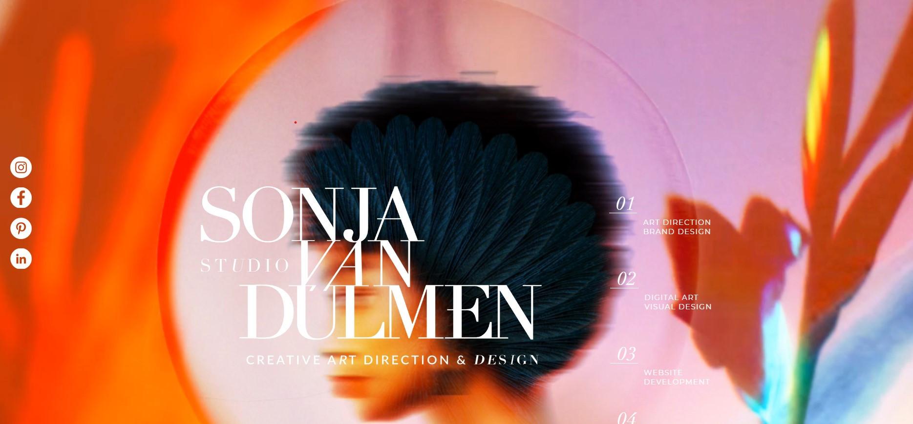 Website Sonja van Dülmen