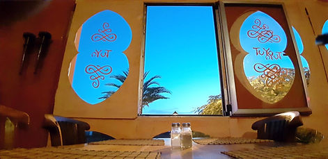 restaurant la gomera mit meerblick