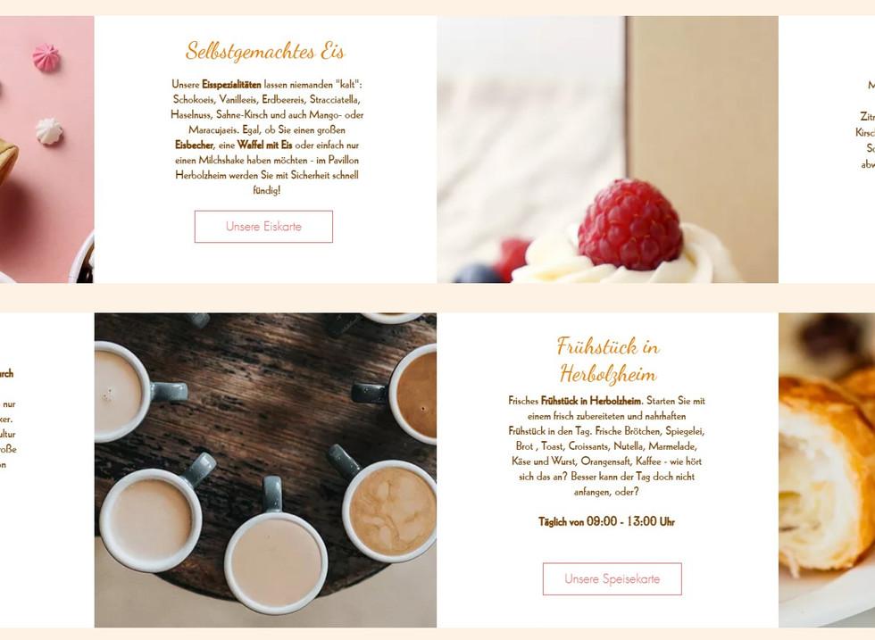 Wix-Beispiel Website