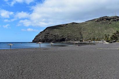 Der Strand von San Sebasian de La Gomera