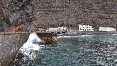 "Die Bucht ""La Rajita"" auf La Gomera"