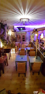 der Innenbereich des Restaurants Tuyo auf La Gomera