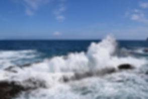 Wildes Meer in Agulo (La Gomera)