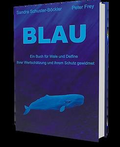 Das Buch BLAU von Sandra Schuster Böckler