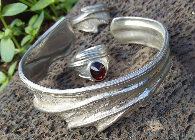 Handgemachter Schmuck aus Silber
