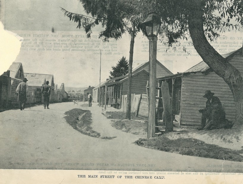 Chinese Camp - Old street