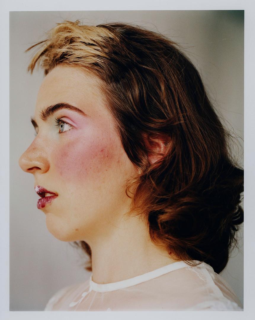 Photography by Nicolas Ruivo. Hair and Makeup by Hannah Wastnidge