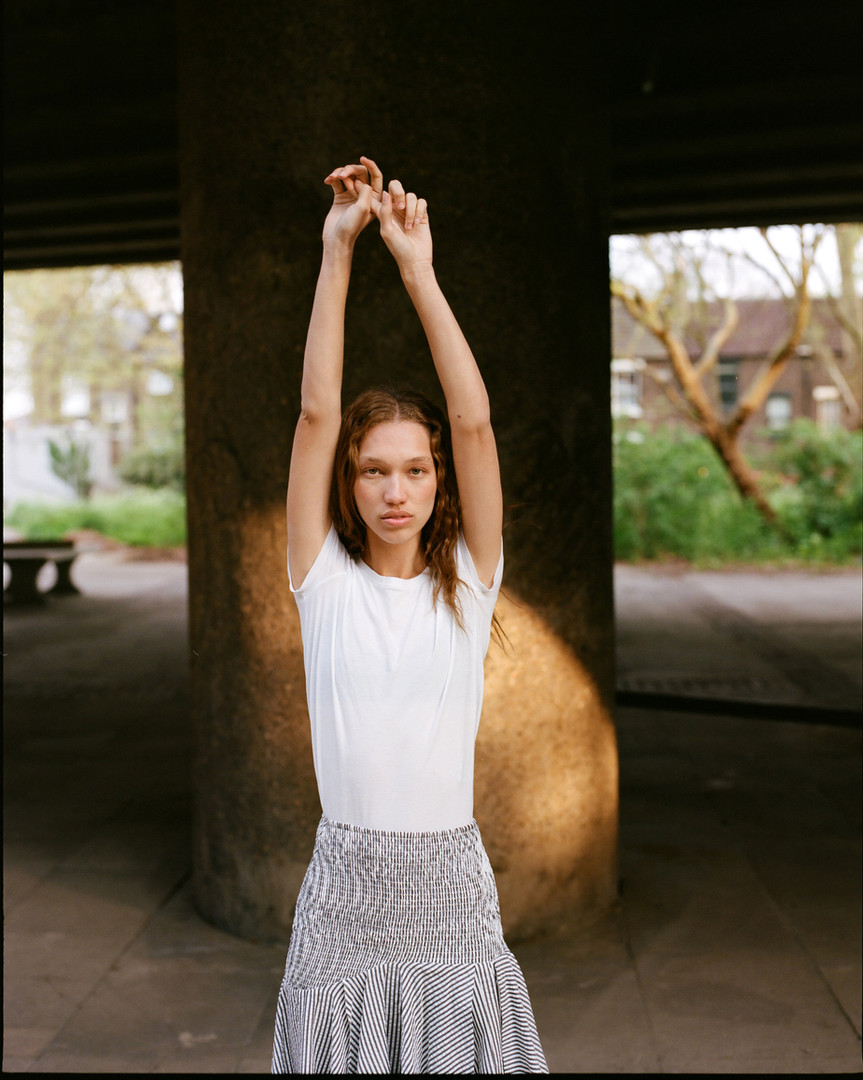 Lorena. Viva Model Management. Shot by Dusan Szokolovics