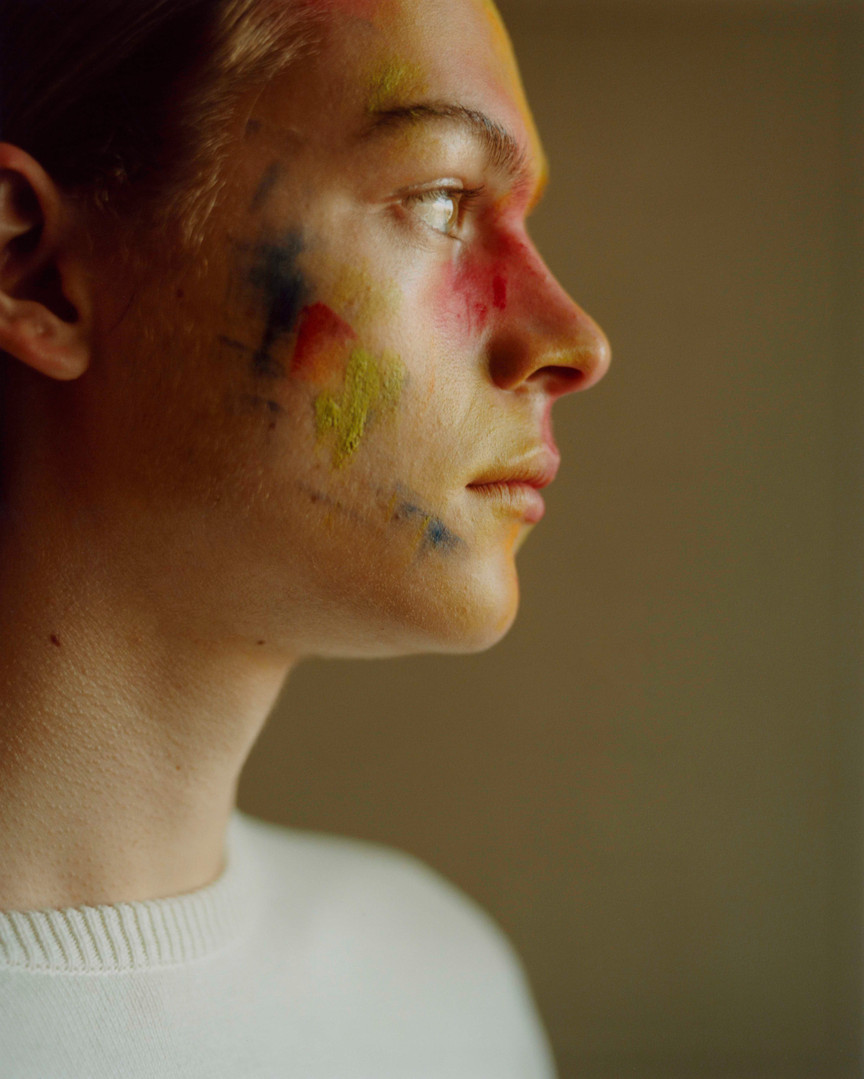 Sonny. Photograph by Nicolas Ruivo. Hair and Makeup by Hannah Wastnidge