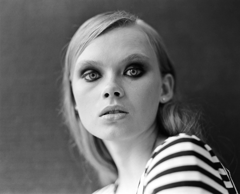 Evie. Photo by Dusan Szokolovics. Hair and Makeup by Hannah Wastnidge.