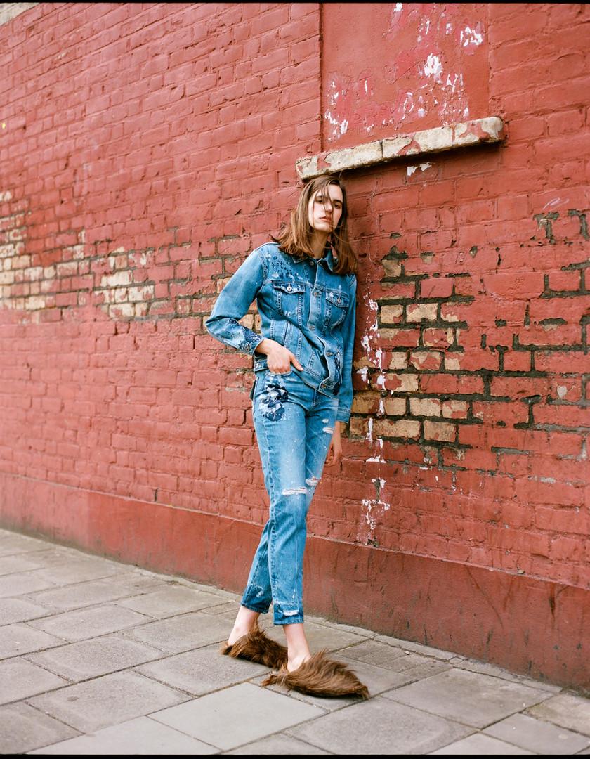 Veronica. Viva Model Management. Shot by Dusan Szokolovics
