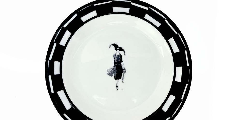Mad hair day saucer