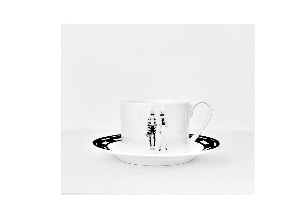 Sisters teacup