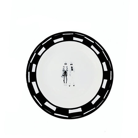 Sisters saucer