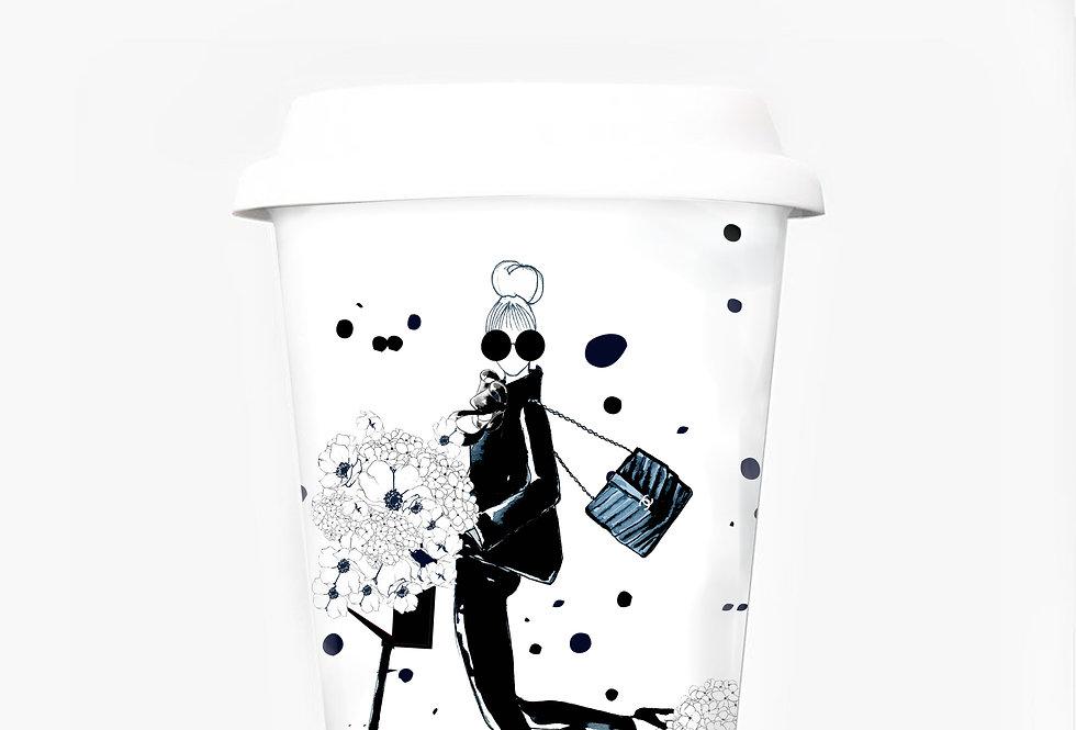 Scooter travel mug