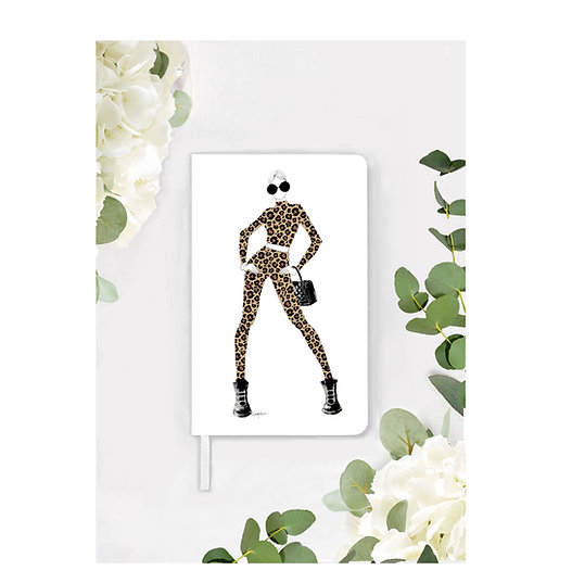 leopard girl Notebook
