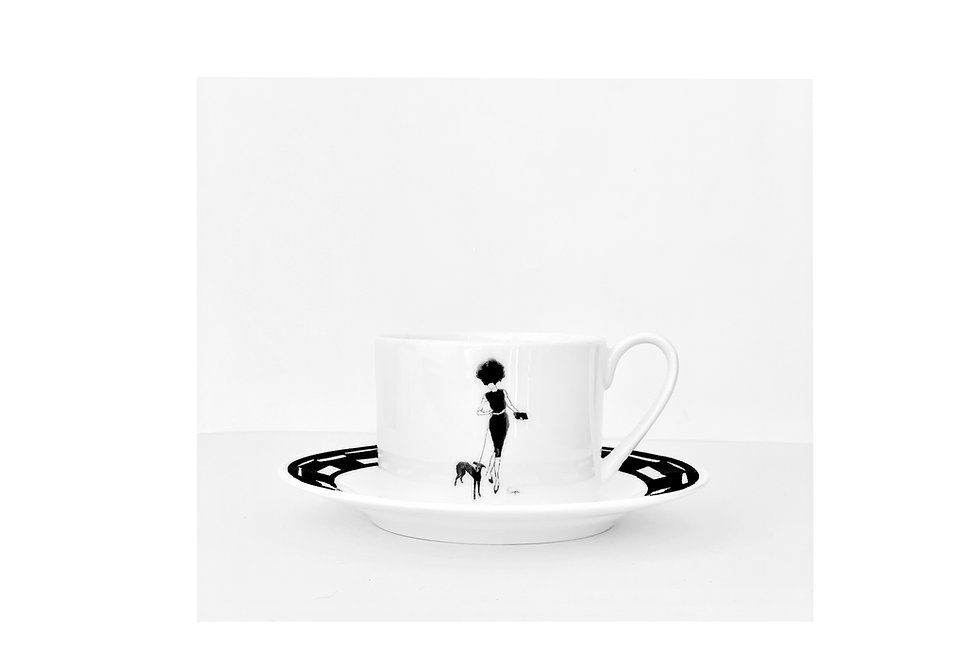 the Greyhound teacup