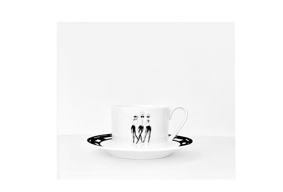 Parisian teacup