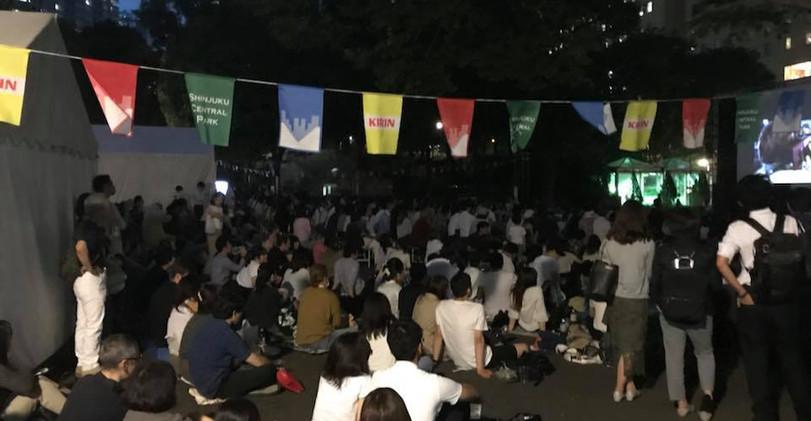 新宿中央公園映画祭