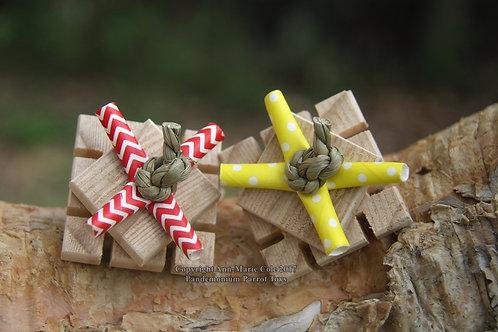 Windmill Foot Toy - Plain Pine