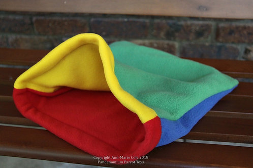 Cuddle Sack - Red, Blue, Green Yellow