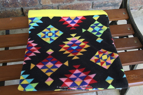 Piggie Cuddle Sack - Geometric & Yellow