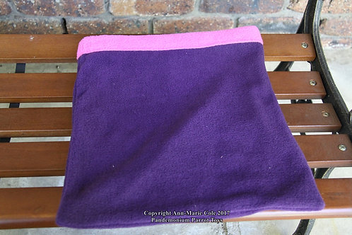 Piggie Cuddle Sack - Purple & Pink