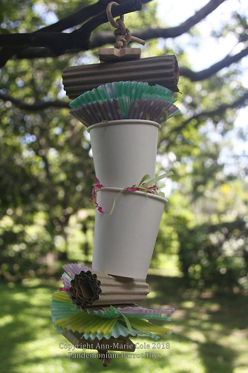 Cassie's Cup Forager (Hanging Toy)