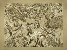 5 Hidden Foxes and 6 Foxhounds