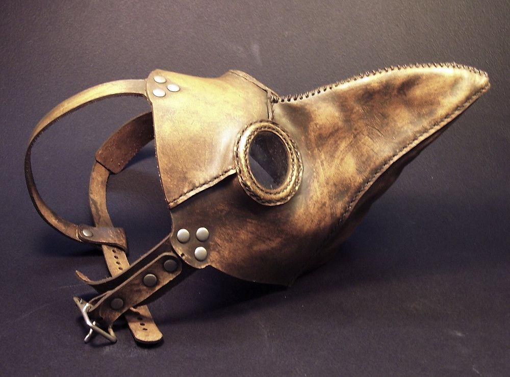 """The """"Beak Mask"""" of the Plague Doctor"""