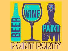 Paint & Sip Party 🎨