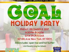 GOAL NY Holiday Party