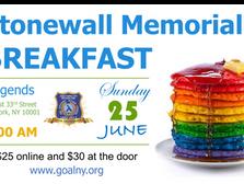 Stonewall Memorial Breakfast