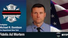 Remembering FDNYFirefighter Michael R. Davidson