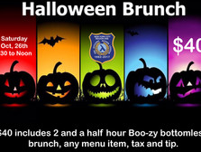 Halloween Costume Brunch - October 26th, 9:30am - Noon
