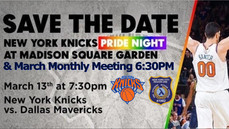 Important Info - March Meeting/Knicks Game