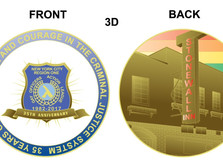 35th Anniversary GOAL NY Challenge Coin Available