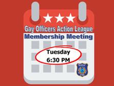 April Membership Meeting