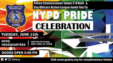 NYPD PRIDE CELEBRATION & MEMBERSHIP MEETING