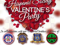 Hispanic Society Valentine's Party
