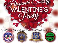 Hispanic Society Valentine's Party