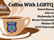 Coffee With LGBTQ Cops - The Bronx
