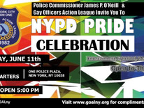 NYPD Pride Celebration