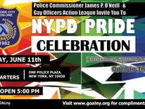 NYPD Pride Celebration