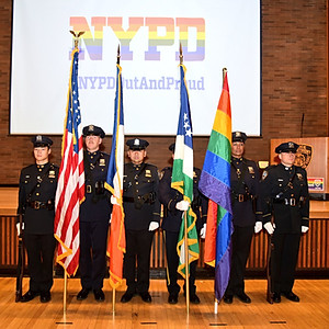 2016 NYPD Pride Celebration