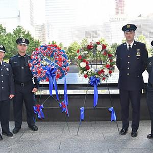 WorldPride 9/11 Memorial Wreath Laying Ceremony