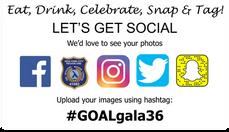 Let's Get Social! #GOALgala36