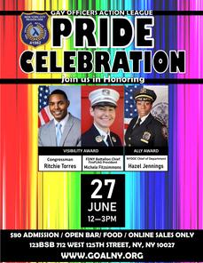 2021 GOAL NY Pride Celebration